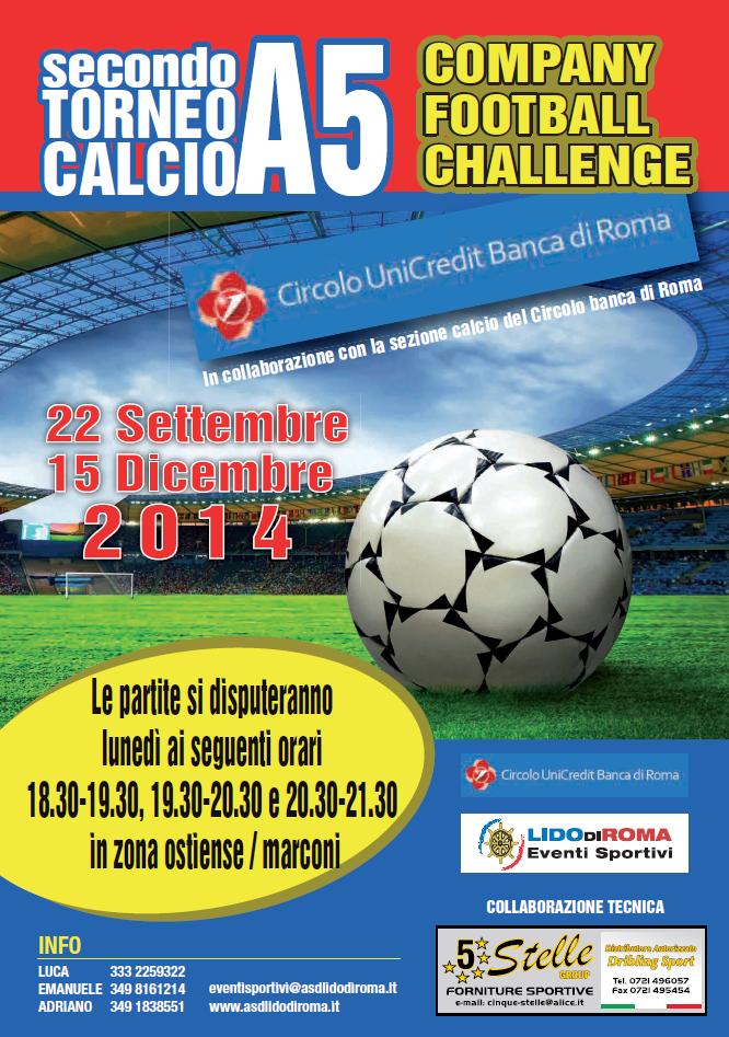 torneo calcio a 5 - settembre 2014