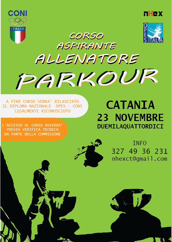 parkour corso catania 23 novembre 14