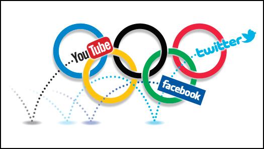 social media e sport olimpiadi