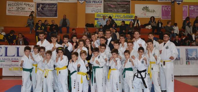 Arti marziali, grande successo a Trani per la XV edizione della TAE CUP