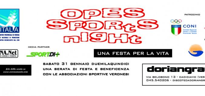 Verona: OPES SPORTS NIGHT