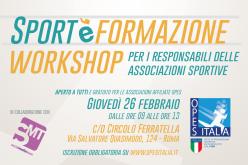 Workshop per ASD: Fiscalità, Comunicazione online, Coaching