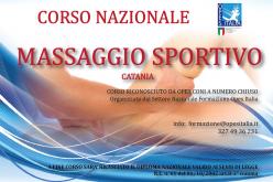 Corso Nazionale Massaggio Sportivo