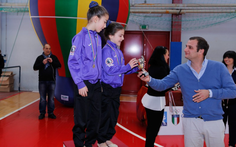 Monterotondo, Ginnastica Ritmica. Grande successo per la 1° prova del Campionato regionale OPES