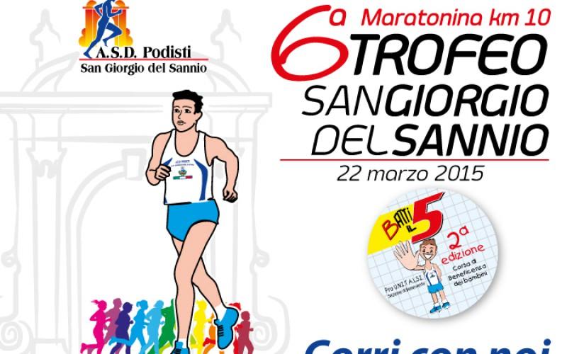 6° Maratonina Trofeo San Giorgio del Sannio (BN)