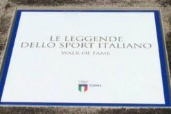 Una Walk of Fame celebra gli atleti italiani più grandi di sempre