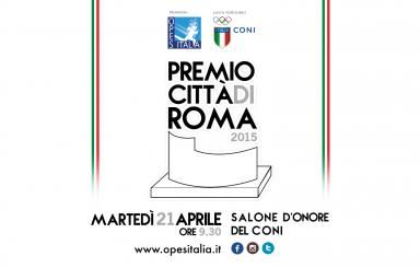 Premio Città di Roma 2015