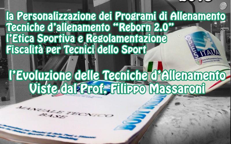 """Seminario  Tecnico """"Body Building nuove frontiere"""""""