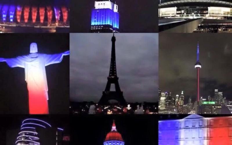 Minuto di raccoglimento per le vittime degli attentati di Parigi