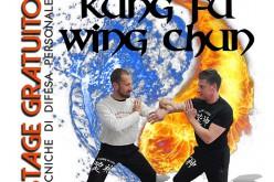 Stage gratuito di difesa personale Wing Chun Kung Fu