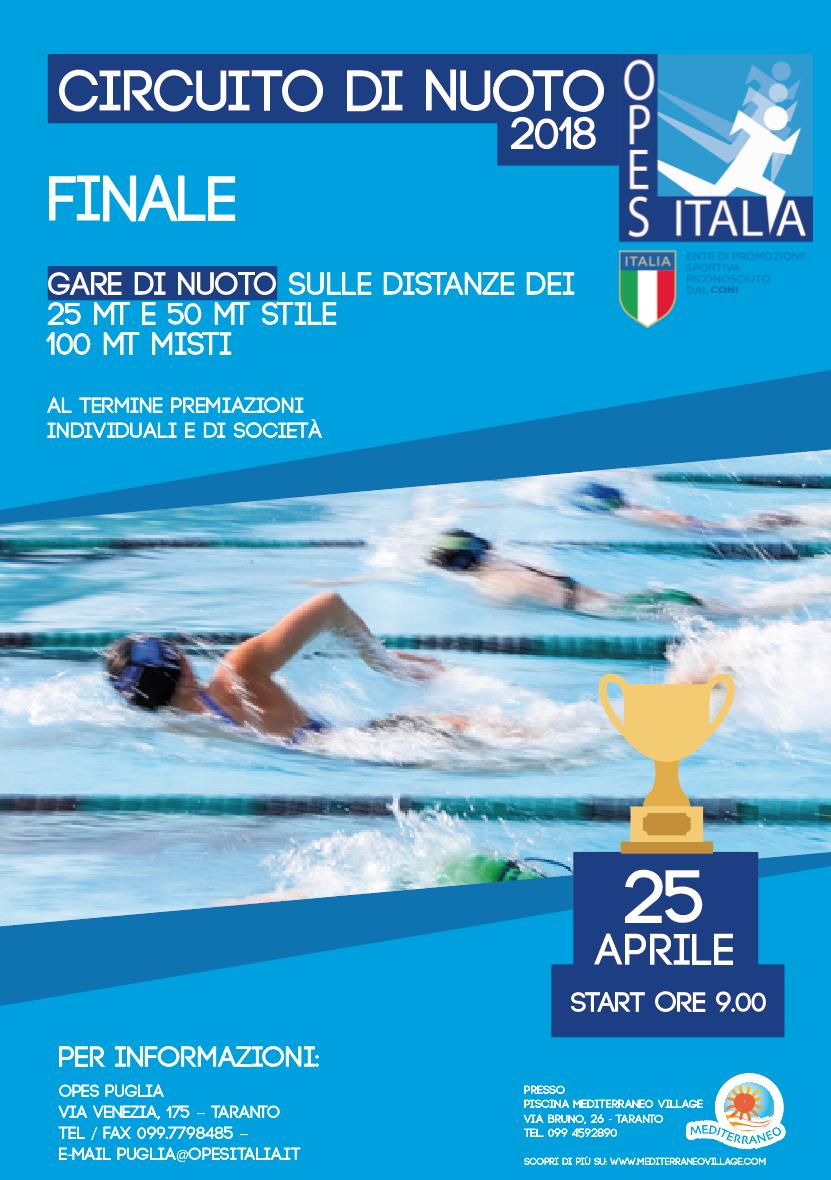 Taranto organizzazione per l 39 educazione allo sport - Piscina mediterraneo taranto ...