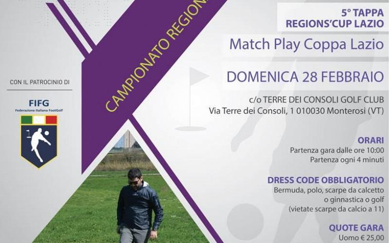 5° Tappa Region's Cup Lazio – Match Play Coppa Lazio