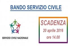 Pubblicato Bando per la selezione di 376 volontari da impiegare in progetti di servizio civile nazionale nella Regione Lazio. Scadenza: 20/04/2016 – Ore 14:00