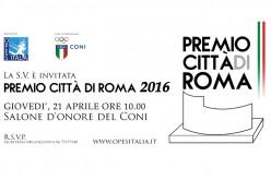 """O.P.E.S. festeggia la capitale: pronta la seconda edizione """"Premio Città di Roma"""""""