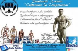 """Seminario tecnico """"Culturismo da Competizione"""""""