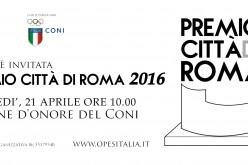 Premio Città di Roma – 21 aprile 2016