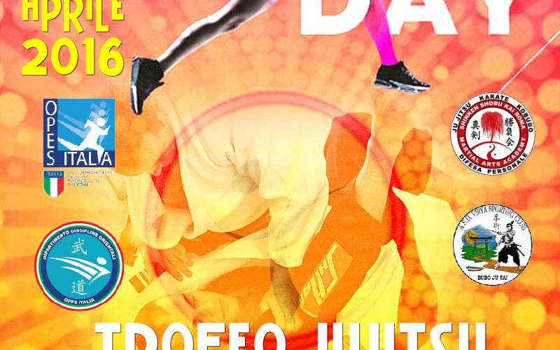 """1° Trofeo di Ju Jitsu """"PER VINCERE DOMANI"""""""