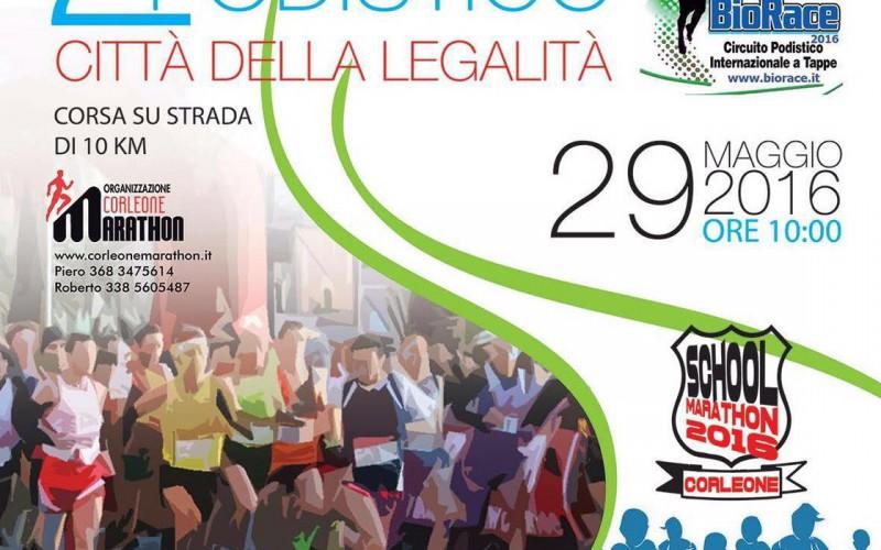 2° Trofeo Podistico Corleone Città della Legalità