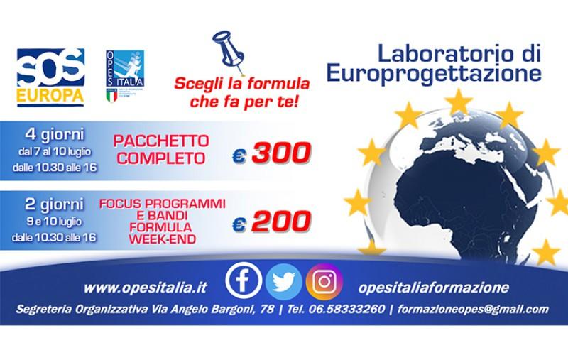 Laboratorio di Europrogettazione