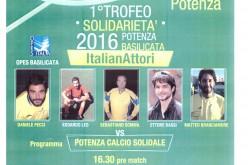 1° Trofeo Solidarietà 2016 Potenza-Basilicata