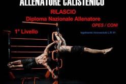 Corso di Formazione Nazionale – Allenatore Calistenico