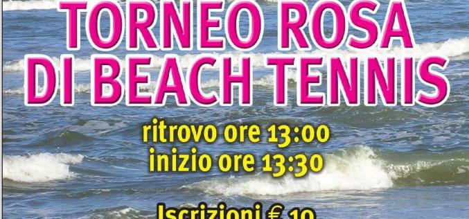 "A Ravenna il ""Torneo Rosa di Beach Tennis"""
