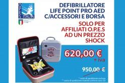 Defibrillatore: scattato l'obbligo dal 1° luglio
