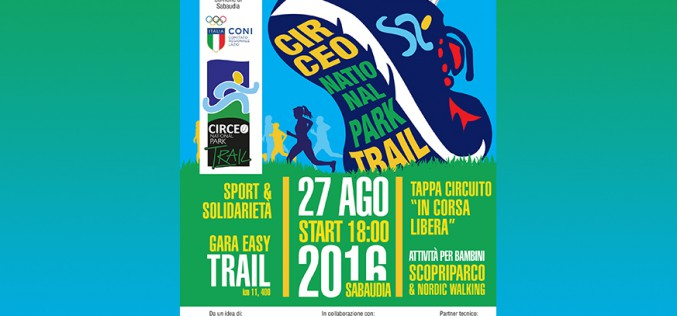 "Altra gara di ""In Corsa Libera"": pronti per il Circeo National Park Trail"