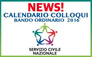 COLLOQUI servizio civile