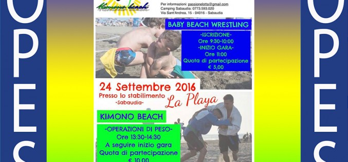 Kimono Beach e Baby Beach Wrestling