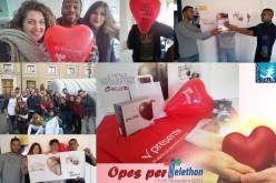 Raccolta fondi Telethon: OPES ai vertici del Lazio