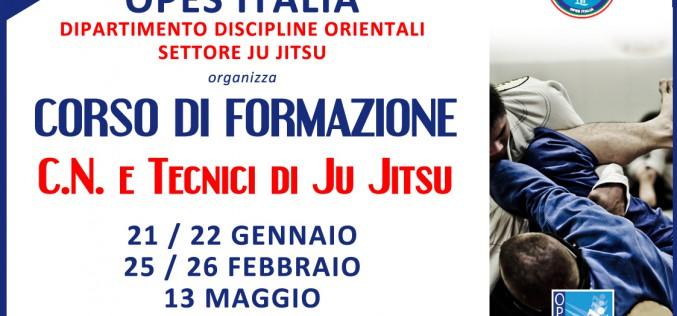 Corso di Formazione C.N. e Tecnici di Ju Jitsu