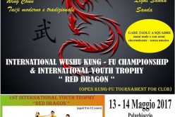 International Wushu Kung-Fu Championship e International Youth Trophy Red Dragon
