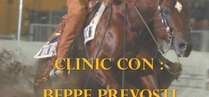 Equitazione: Clinic con Beppe Prevosti