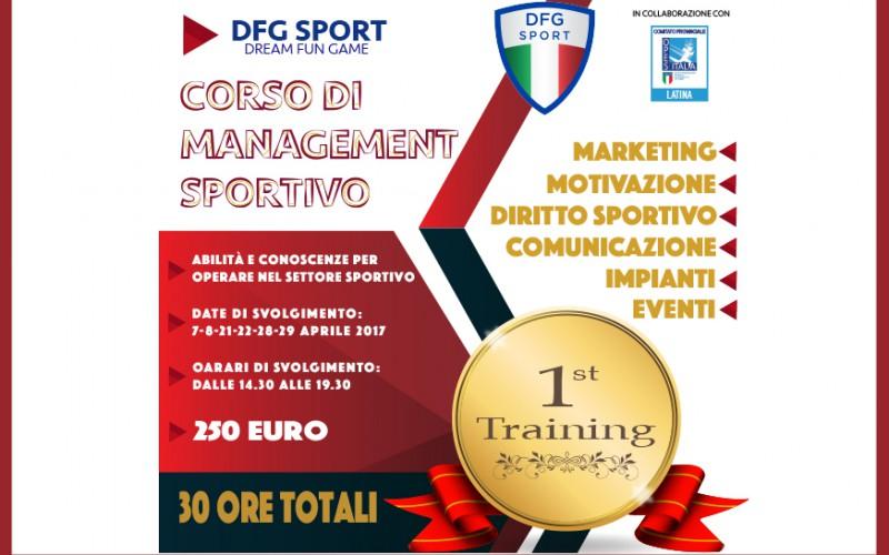 Corso di Management Sportivo