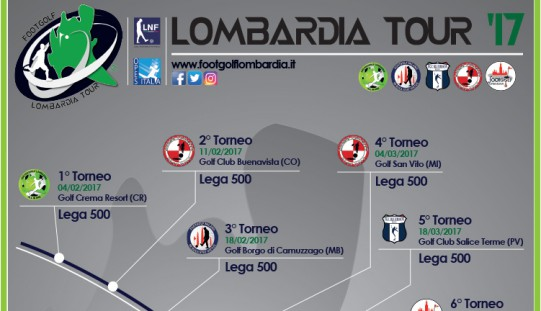 Lombardia Footgolf Tour 2017