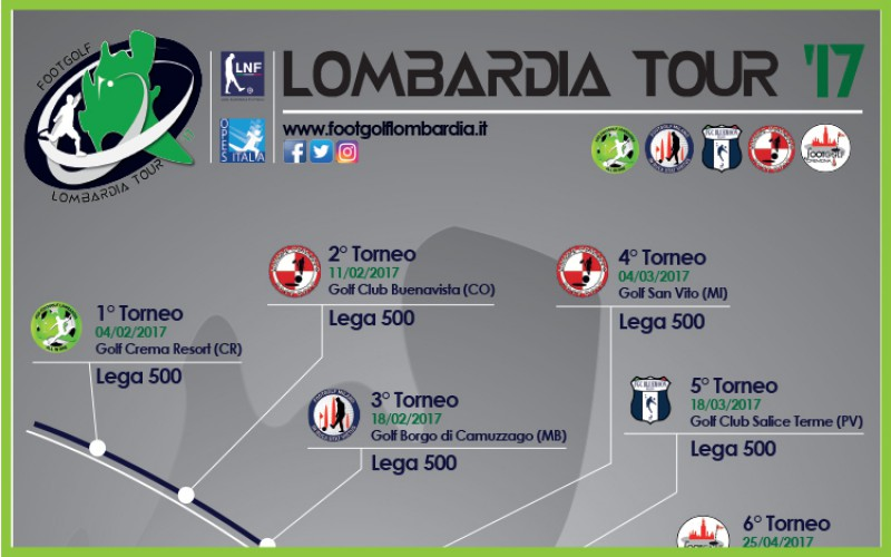 Lombardia Footgolf Tour 2017