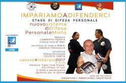Stage di Difesa Personale e Corso di Difesa S.D.P.M.