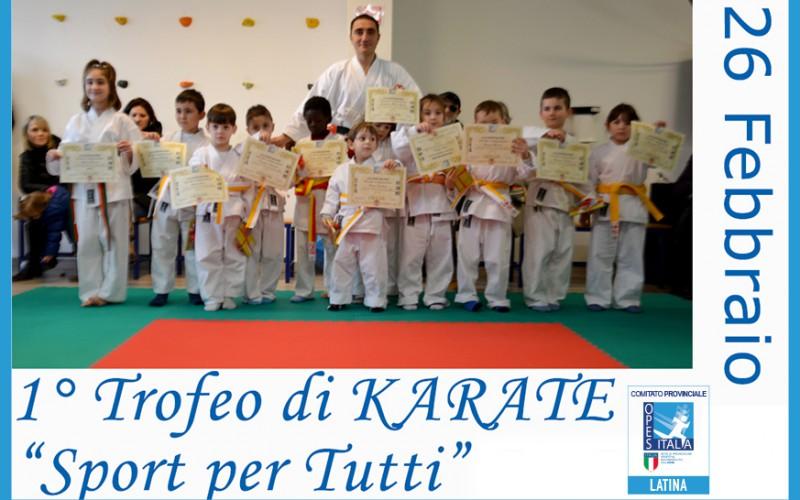 "1° Trofeo Karate ""Sport per tutti"""