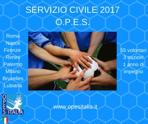 SERVIZIO CIVILE O.P.E.S.