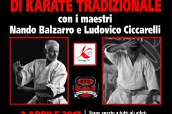 Stage Nazionale di Karate Tradizionale