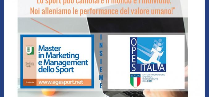 OPES – Tor Vergata: Master in Marketing e Management dello Sport