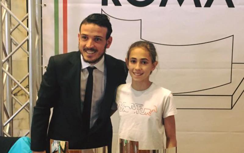 O.P.E.S. Premia Florenzi e Rogora: riconoscimenti ai meriti umani e sportivi con il Premio Città di Roma 2017.
