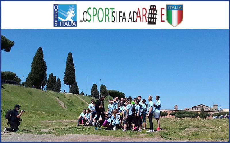"""""""Lo Sport si fa ad Arte"""": diario della 1° tappa romana"""
