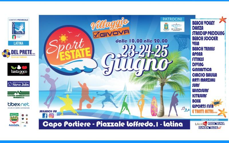 A Latina torna Sport Estate per tutto il week-end