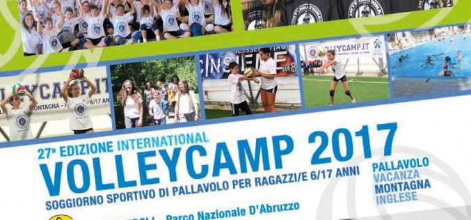 Ultimi posti per il Volley Camp a Pescasseroli (6-17 anni)