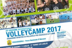 Volley Camp 2017: al via la 27° edizione