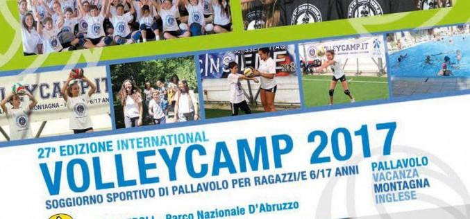 Volley Camp 2017: al via la 27° edizione