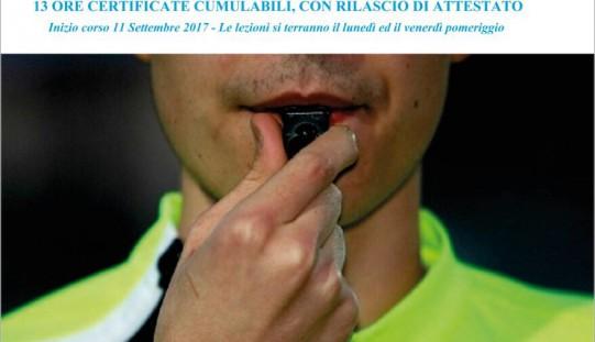 Corso Arbitro Calcio/Calcio A5