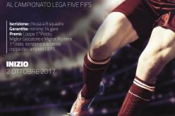 Aperte le iscrizioni per la Lega Five FIFS 2017/2018